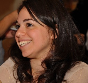 Tanya Moradi at the Alumni Reunion, July 25, 2010.