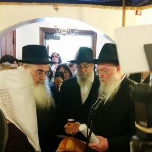 Yehudah Blesofskyu wedding pic instagram