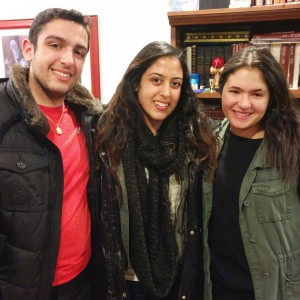 Matthew Shamash, Jessica Shamash and Michelle Louie - Purim 2015