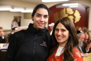 """This program was well-done and necessary for college students who want to learn more about Judaism without the expectations of yeshivah,"" -Shaindy Ferster, Miami University.  (L-R) pictured; Shaindy Ferster, Tzipah Wertheimer"