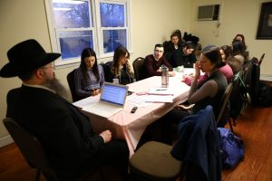 """It was a pleasure to study with such bright and highly motivated students. They asked great questions and made great points,"" - Rabbi Shais Taub"